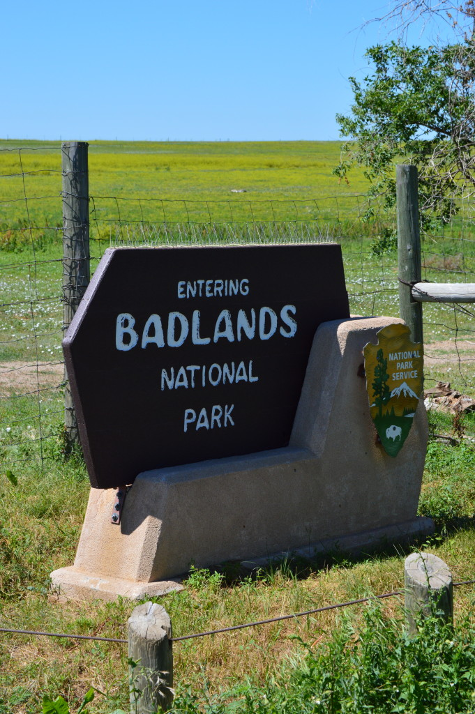 Badlands Welcome