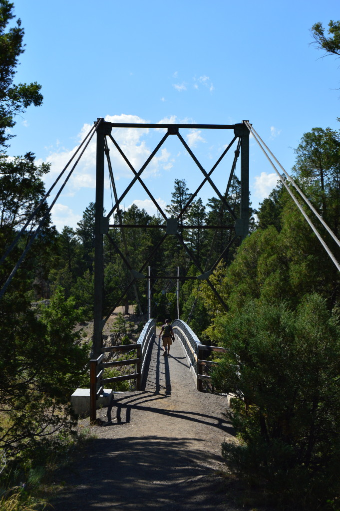 Yellowstone River Suspension Bridge